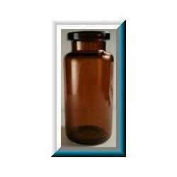 5mL Amber Serum Vials, Holds 10mL, 23x47mm, Ream of 288