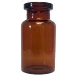 10mL Amber Serum Vials, ISO 10R, 24x45mm, Ream of 252