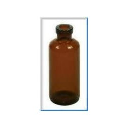 10mL Amber Serum Vials, 13mm Crimp, 21.5x52mm, Ream of 273