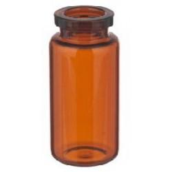 10mL Amber Serum Vials, 24x50mm, Ream of 217