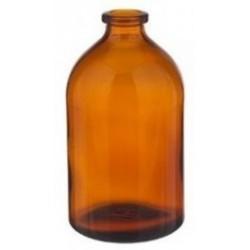 100mL Amber Serum Vials, 52x95mm, Case of 136
