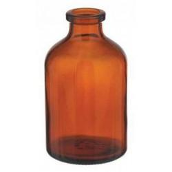 50mL Amber Serum Vials, 43x73mm, Case of 204