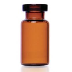 2mL Amber Serum Vials, HOLDS 3mL, 16x35mm, Ream of 264