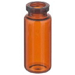 20mL Amber Serum Vials, 29x62mm, TUBING STYLE, Ream of 150