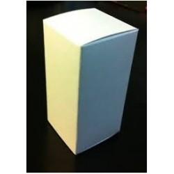 White Vial Box, for 10mL Serum Vials, Pk 100