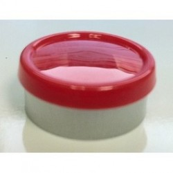 20mm Superior Flip Cap Vial Seal, Red, Bag 1000