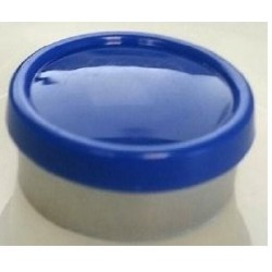 20mm Superior Flip Cap Vial Seal, Royal Blue, Bag 1000