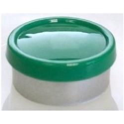 20mm Superior Flip Cap Vial Seal, Green, Bag 1000