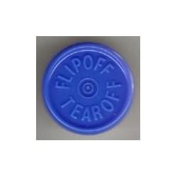 20mm Flip Off-Tear Off Vial Seals, Royal Blue, Pack of 100