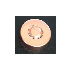 20mm Center Tear Vial Seals, Copper, Pack of 100