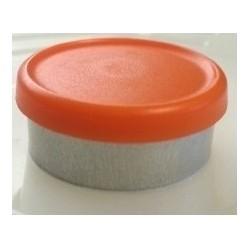 West Matte 20mm Flip Cap Vial Seal, Orange Peel, Bag of 1000