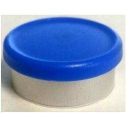 West Matte 20mm Flip Cap Vial Seal, Royal Blue, Bag of 1000