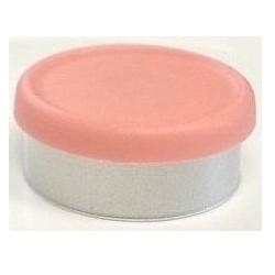 West Matte 20mm Flip Cap Vial Seal, Peach, Bag of 1000