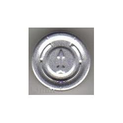 20mm Complete Tear Off Vial Seals, Natural, Pk 100