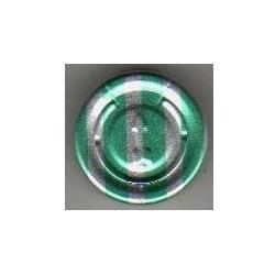 20mm Complete Tear Off Vial Seals, Green Stripe, Pk 100