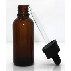 50mL Amber Dropper Bottle, 1 piece
