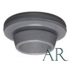 20mm Round Bottom Vial Stoppers, AR, Bag of 1,000