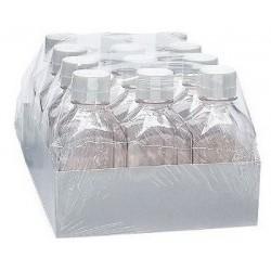 Nalgene 2000ml Sterile Plastic Media Storage Bottles, Case of 12