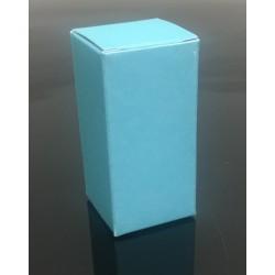 Light Blue Vial Boxes, 10mL, Pk 100