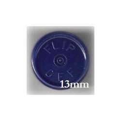 13mm Flip Off Vial Seals, Dark Navy Blue, Pack of 100