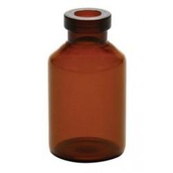 5mL Amber Serum Vials, 13mm Crimp, 21x40mm, Ream of 273